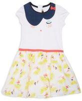 Catimini Toddler's, Little Girl's & Girl's Lemon-Print Dress