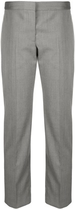 Alexander McQueen Wool Cropped Trousers