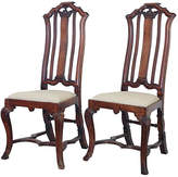 One Kings Lane Vintage 18th-C. Anglo-Dutch Walnut Chairs