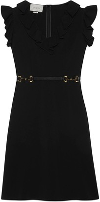 Gucci Flutter Sleeve Dress