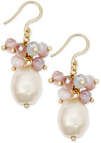 Charter Club Imitation Pearl Shaky Bead Drop Earrings, Only at Macy's