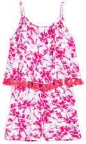 Design History Girls' Tie-Dye Romper - Little Kid