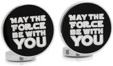 Star Wars STARWARS May the Force Be With You Cuff Links