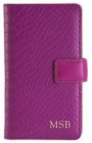 GiGi New York Personalized Python-Embossed Leather iPhone 6 Case & Wallet
