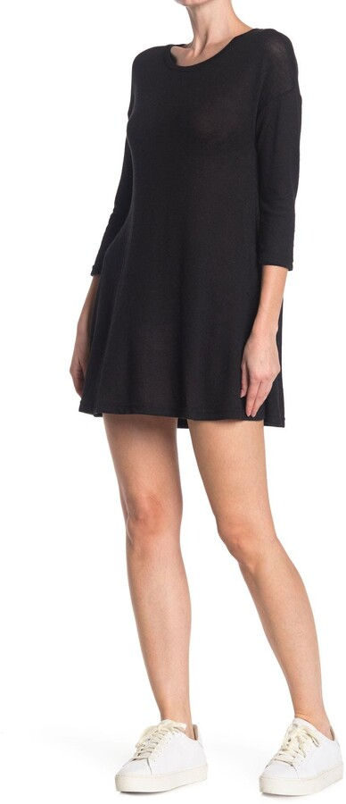 Thumbnail for your product : Angie Quarter Sleeve Swing Dress