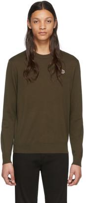 Paul Smith Khaki Zebra Logo Sweater