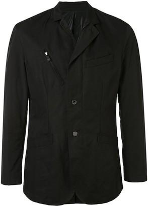 Kent & Curwen Zip-Pocket Shirt Jacket