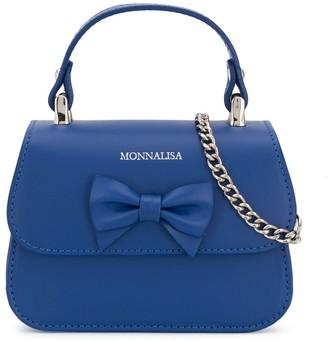 MonnaLisa Bow Detailed Shoulder Bag