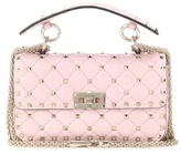 Valentino Rockstud Spike Small Quilted Leather Handbag