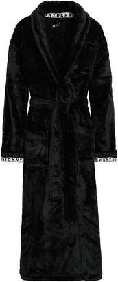 DKNY Embroidered Fleece Robe