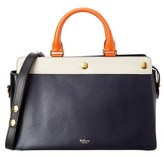 Mulberry Chester Colorblock Leather Satchel.
