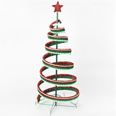 Asstd National Brand Roman 4' LED Spiral Ribbon Tree with Star