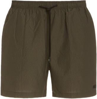 Solid & Striped The Classic Seersucker Swim Shorts