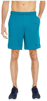 Nike Dry-FIT Knit Short 5.0 (Black/Iron Grey/White) Men's Shorts