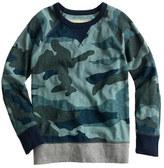 Camo Boys' blue sweatshirt