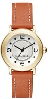 Marc by Marc Jacobs Women's Marc Jacobs Round Leather Strap Watch, 28Mm