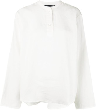 Sofie D'hoore Stand-Up Collar Shirt
