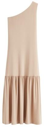 Cuyana One-Shoulder Dress