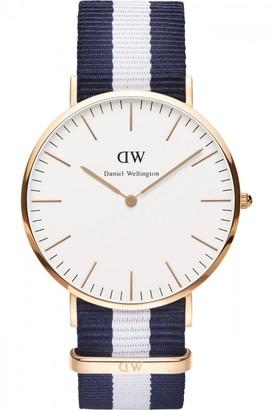 Daniel Wellington Mens Glasgow 40mm Watch DW00100004