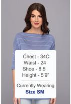 Calvin Klein Jeans Striped Kimono Sleeve Tee