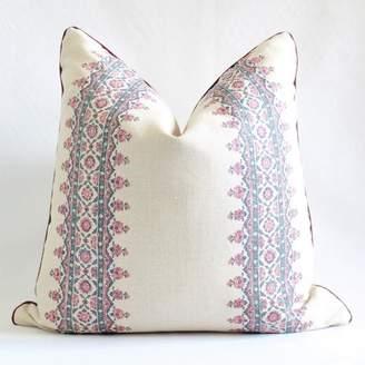 Peter Dunham Custom Pillow, Isfahan Custom Pillow, Designer Pillow, Decorative Throw Pillow, Marion Pillow Cover