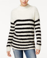 Sanctuary Mod Striped Mock-Neck Sweater