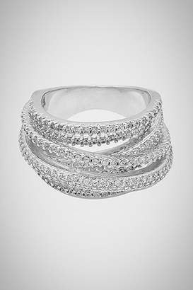 Embellish Layers Cz Ring