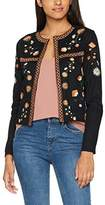 New Look Women's Embroidered Trophy Suit Jacket