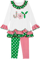 Bonnie Jean 2-Pc. Joy Tunic & Leggings Set, Toddler Girls (2T-5T) & Little Girls (2-6X)