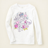 Children's Place Love princess graphic tee