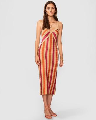 SUBOO Jacquelyn Knit Slip Dress