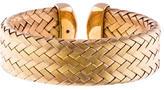 Roberto Coin Wide Woven Cuff Bracelet