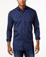 Club Room Men's Nautical Print Shirt, Only at Macy's