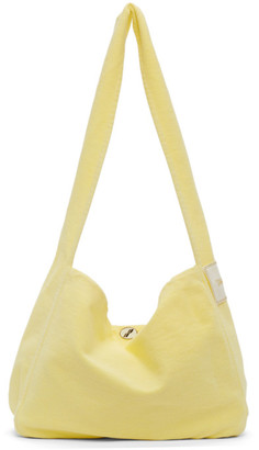 we11done Yellow Canvas Bag