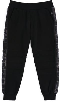 Philipp Plein Junior Logo Tape Sweatpants