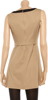 Moschino Cheap & Chic Moschino Cheap and Chic Two-tone cotton-blend dress