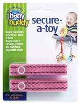 Baby Buddy Secure-a-Toy Straps in Pink/Brown (Set of 2)