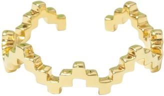 Jewel Tree London Baori Silhouette Ring Gold Vermeil