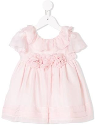Patachou Rose Corsage Embellished Dress