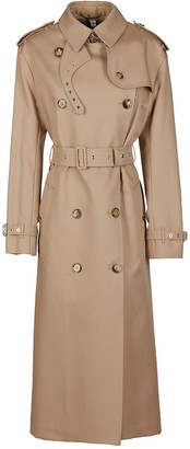 Burberry Vintage Check Layered Trench Coat