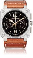 Bell & Ross Men's BR 03-94 Steel Watch-BROWN