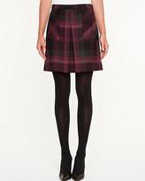 Le Château Check Mini Skirt