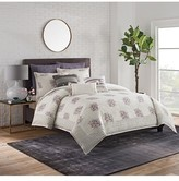 Cupcakes And Cashmere Block Print Floral Duvet Cover