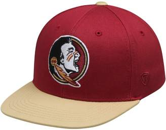 Top of the World Unbranded Youth Garnet Florida State Seminoles Maverick Snapback Adjustable Hat