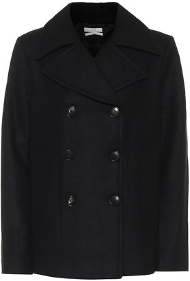 Co Double-breasted wool-blend coat