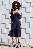 Forever 21 Contemporary Button-Front Dress