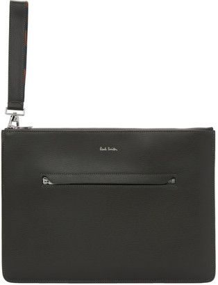 Paul Smith Grey Leather Document Holder