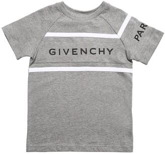 Givenchy Logo Print Cotton Jersey T-shirt
