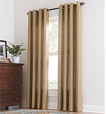 JCPenney Linden Street Thompson Grommet-Top Curtain Panel