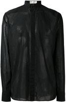 Saint Laurent concealed-placket shirt - men - Cotton - 39